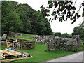SX6979 : Medieval remains at Challacombe  by Stephen Craven