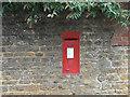 SP7471 : Church End postbox, ref NN6 76 by Alan Murray-Rust