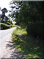TM2348 : Footpath along Lodge Road by Adrian Cable