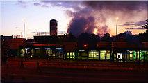 TQ3266 : Croydon Burns by Peter Trimming