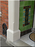 SP7761 : Tiled porch by Alan Murray-Rust