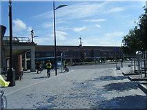 SJ3290 : Seacombe Promenade at Seacombe Ferry Terminal by Colin Pyle
