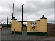 R7624 : Gateway to Ballylanders Gaelic A.A. playingfield by Neil Theasby