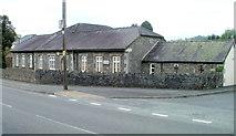 SN7634 : NE corner of Llandovery Hospital by Jaggery