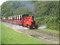 SW8357 : A miniature train at Lappa Valley Steam Railway by Rod Allday