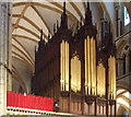 SK9771 : Lincoln Cathedral Organ by J.Hannan-Briggs