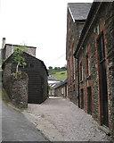 SX8155 : Rear of Tuckenhay Mill  by Robin Stott