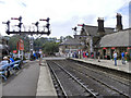 NZ8205 : Grosmont Station by David Dixon