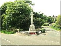 NX0054 : Portpatrick War Memorial by Ann Cook