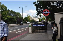 TQ2882 : London : Westminster - Regent's Park Station by Lewis Clarke