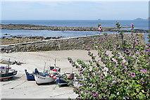 SW3526 : Sennen Cove slipway by Graham Horn