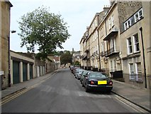 ST7465 : Looking up Upper Church Street from Royal Crescent by Robert Lamb