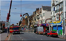 TQ3166 : Croydon Riots - two days later by Peter Trimming