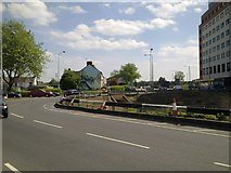 SU1584 : Whale Bridge Roundabout, Swindon May 2011 (2 of 2) by Brian Robert Marshall