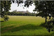 SU9777 : Home Park and Windsor Castle by Philip Halling