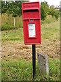 TM1958 : New Street Corner Postbox by Geographer