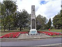 SP2871 : Kenilworth War Memorial by David Dixon