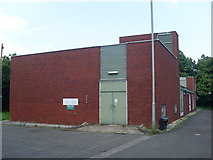 SU2913 : Cadnam Telephone Exchange, Hants by David Hillas
