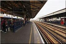 TQ2775 : Platform 4 at Clapham Junction by Bill Boaden
