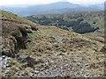 NN4605 : Abandoned road, Stob an Lochain by Richard Webb