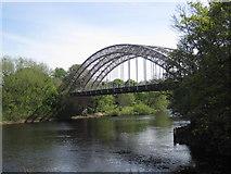 NZ1164 : West Wylam Bridge (Wylam) by Les Hull