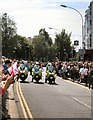 TQ3104 : Police outriders, Brighton Pride Parade by Paul Gillett
