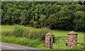 J3997 : Gate near Gleno (2) by Albert Bridge