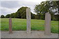 V8790 : Ogham stones, Beaufort by Ian Taylor