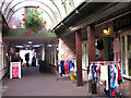 SK8608 : Covered arcade, Oakham by Stephen Craven