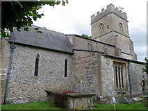 SU1872 : St Andrew's Church, Ogbourne St Andrew by Maigheach-gheal