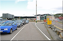 NM8529 : Ferry terminal, Oban by Andrew Hackney