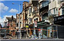 TQ3166 : Croydon Riots - demolition by Peter Trimming