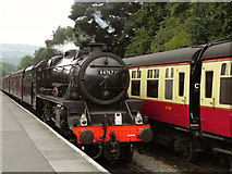 NZ8205 : George Stephenson at Grosmont by David Dixon