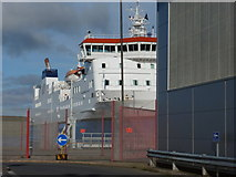 HU4642 : Lerwick: last photo before leaving Shetland soil by Chris Downer