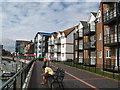 TQ0201 : Littlehampton Quayside flats by Josie Campbell