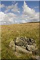 SD7248 : Pile of Stones (Old Ned) on Easington Fell by Tom Richardson