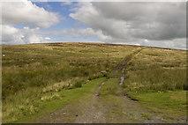 SD7148 : Moorland track to Easington fell by Tom Richardson