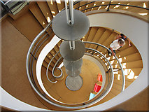 TQ7407 : Spiral staircase at the De La Warr Pavilion by Oast House Archive