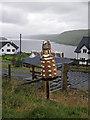 NG3831 : Tattie Dalek in Carbost by Richard Dorrell