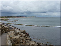 NZ3672 : Whitley Bay: view across the bay by Chris Downer