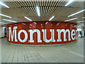 NZ2464 : Newcastle upon Tyne: Monument Station concourse by Chris Downer