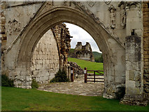 SE7365 : Kirkham Abbey Ruins by Andy Beecroft