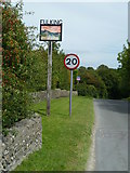 TQ2411 : Fulking village sign on the road in from the west by Shazz