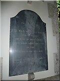 SU5846 : Dummer - All Saints Church: memorial (d) by Basher Eyre