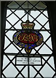 SU5846 : Dummer - All Saints Church: memorial window by Basher Eyre
