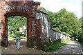 SU8695 : Hughenden Manor walled garden by Graham Horn