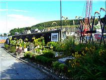 NS0667 : HMS Varbel Memorial Garden by Thomas Nugent