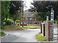 SO5677 : Houses at the entrance to Orchard Lea by Christine Johnstone