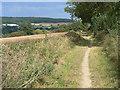 SK6148 : Bridleway along the ridge by Alan Murray-Rust