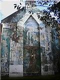 TQ2775 : Mural, Elspeth Road SW11 by Robin Sones